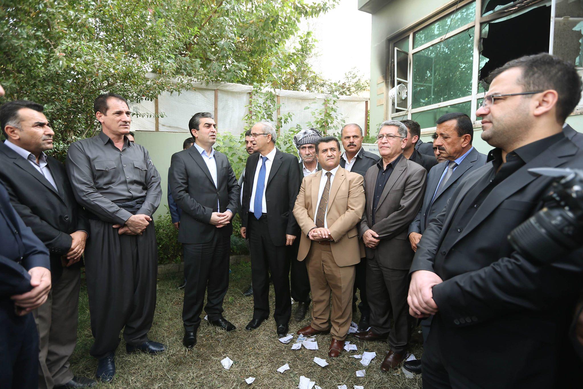 پارێزگهرێ دهۆكێ سهرهدانا مهلبهندێ ئێكهتی نیشتیمانی كوردستان ل زاخۆ كر