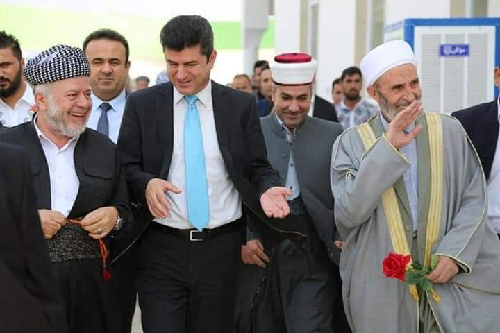 پارێزگهرێ دهۆكێ 50 سالیا دامهزراندنا ئێكهتیا زانایێن ئاینێ ئیسلامى كوردستان پیروزدكهت